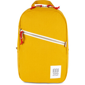 Topo Designs Light Backpack yellow canvas